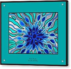 Broken Angel Blooms Acrylic Print