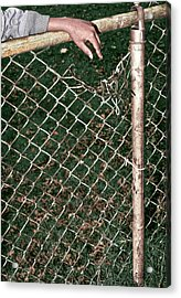Broken Fence Acrylic Print by Kellice Swaggerty