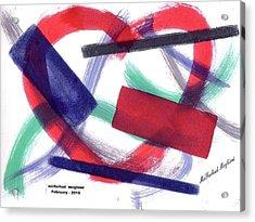 Broken Heart 01 Acrylic Print