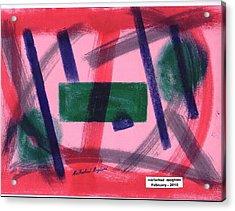 Broken Heart 02 Acrylic Print by Mirfarhad Moghimi