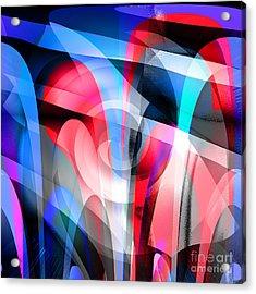 Broken Heart Acrylic Print by Ashantaey Sunny-Fay