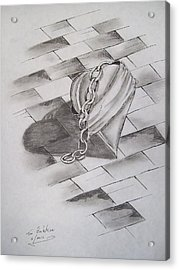 Broken Heart Acrylic Print by Tom Rechsteiner