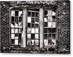 Broken Industrial Dreams Acrylic Print by Olivier Le Queinec