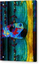 Broken Music Acrylic Print by RC deWinter