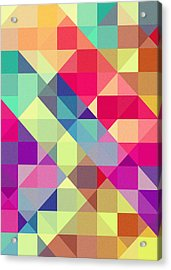 Broken Rainbow II Acrylic Print by VessDSign