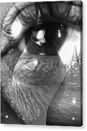 Broken Soul Acrylic Print
