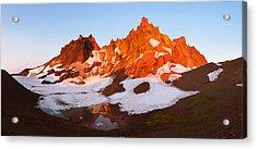 Broken Top Mt. Sunrise Acrylic Print