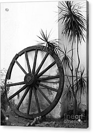 Broken Wheel Acrylic Print