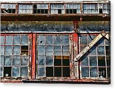 Broken Windows Acrylic Print by Paul Ward