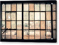 Broken Windows Acrylic Print by Yo Pedro