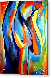 Broken Woman Acrylic Print by Helena Wierzbicki