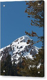 Brokeoff Mtn. In Spring Acrylic Print by Jan Davies