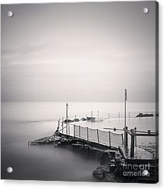 Bronte Pool Sydney Acrylic Print by Colin and Linda McKie