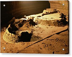 Bronze Age Archaeological Site Acrylic Print by Pasquale Sorrentino/science Photo Library