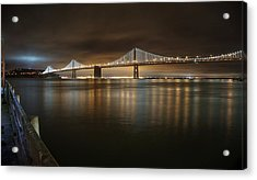 Acrylic Print featuring the photograph Bronze And Gold by Peter Thoeny