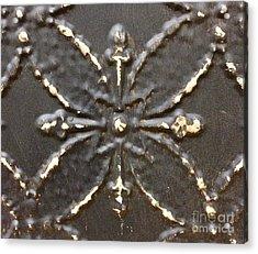 Bronze Acrylic Print by M West