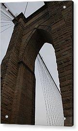 Brooklyn Bridge 2851 Acrylic Print by Deidre Elzer-Lento
