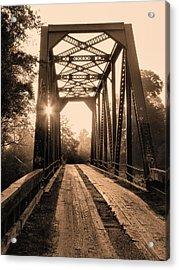 Brooklyn Bridge 3 Acrylic Print by JC Findley