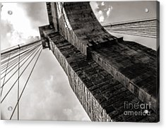 Acrylic Print featuring the photograph Brooklyn Bridge by Angela DeFrias