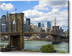 Brooklyn Bridge Acrylic Print