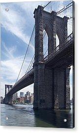 Brooklyn Bridge Acrylic Print by Mike McGlothlen