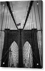 Brooklyn Bridge Acrylic Print by Nicklas Gustafsson