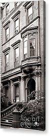 Brooklyn Heights -  N Y C - Classic Building And Bike Acrylic Print