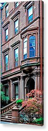 Brooklyn Heights - Nyc - Classic Building And Bike Acrylic Print