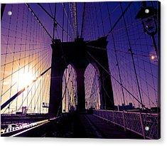 Brooklyn Acrylic Print by Jessica Stiles
