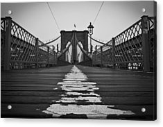 Brooklyn Lines Acrylic Print by Michael Murphy