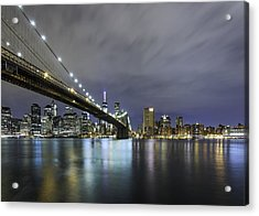 Acrylic Print featuring the photograph Brooklyn Nights by Anthony Fields