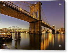 Acrylic Print featuring the photograph Brooklyn Sunrise by Anthony Fields