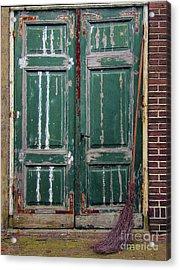 Broom Door Acrylic Print