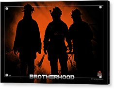 Brotherhood 1 Acrylic Print by Mitchell Brown