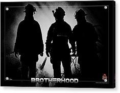 Brotherhood 2 Acrylic Print by Mitchell Brown