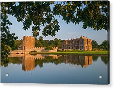Broughton Castle Acrylic Print by David Ross