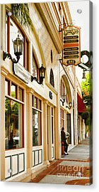 Brown Bros Building Acrylic Print
