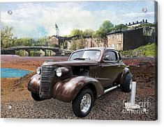 Brown Classic Collector Acrylic Print by Liane Wright