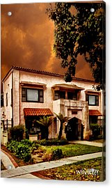 Brown House 2 Acrylic Print by Bob Winberry