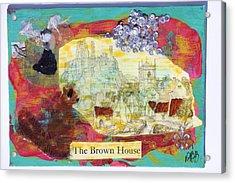Brown House No 1 Acrylic Print