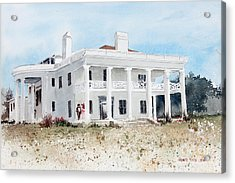 Brown Mansion Acrylic Print