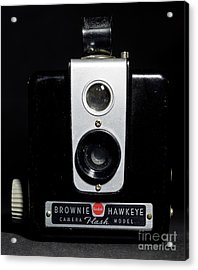 Brownie Hawkeye Flash Camera Acrylic Print