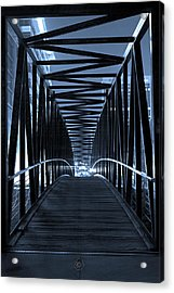 Brown's Island Bridge Acrylic Print by Brian Archer