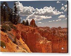 Bryce Canyon Sky  Acrylic Print