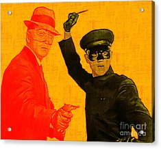 Bruce Lee Kato And The Green Hornet 20130216 Acrylic Print by Wingsdomain Art and Photography