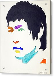 Bruce Lee Acrylic Print by Stormm Bradshaw