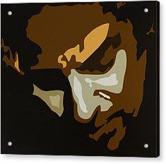 Bruce Springsteen Acrylic Print by Dennis Nadeau