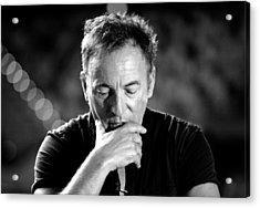 Bruce Springsteen Media Call Acrylic Print