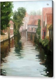 Bruges Acrylic Print