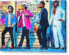 Bruno Mars - Uptown Funk 8 Acrylic Print